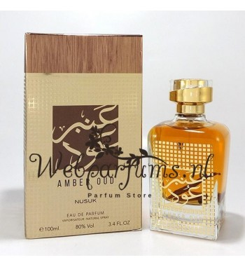 Amber Oud for him or her by Nusuk