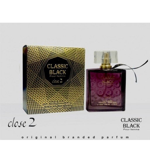Classic Black for her by Close2