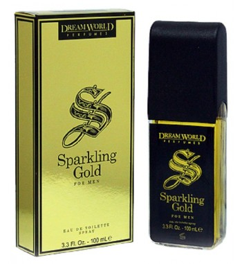 Sparkling Gold for him by Dreamworld