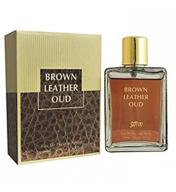 Brown Leather Oud for him and her by Saffron