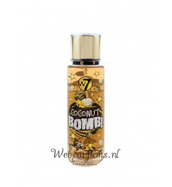 W7 coconut Bomb body mist