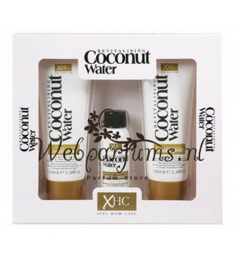 Coconut hair care gift set